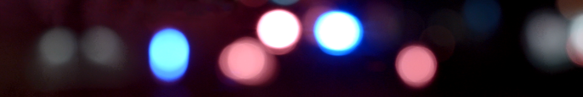 Blurry Police Lights